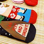 Новогодние носки женские внутри махра EKMEN 1321 Турция 36-41 размер ассорти 20039905, фото 5