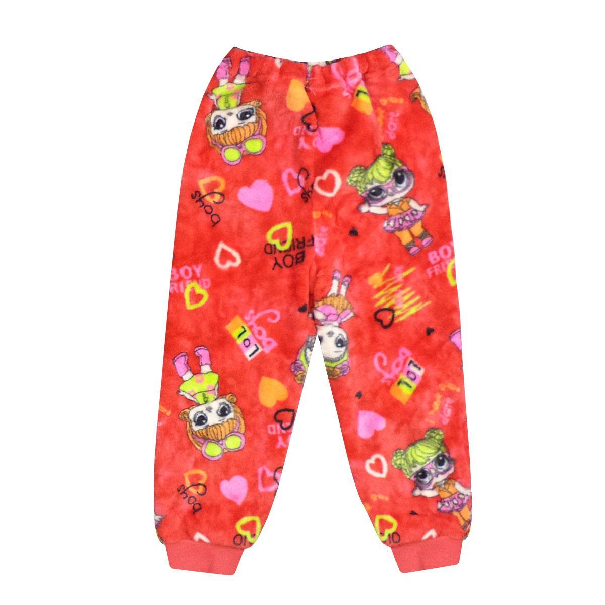 Детские домашние штаны для девочки и мальчика махра