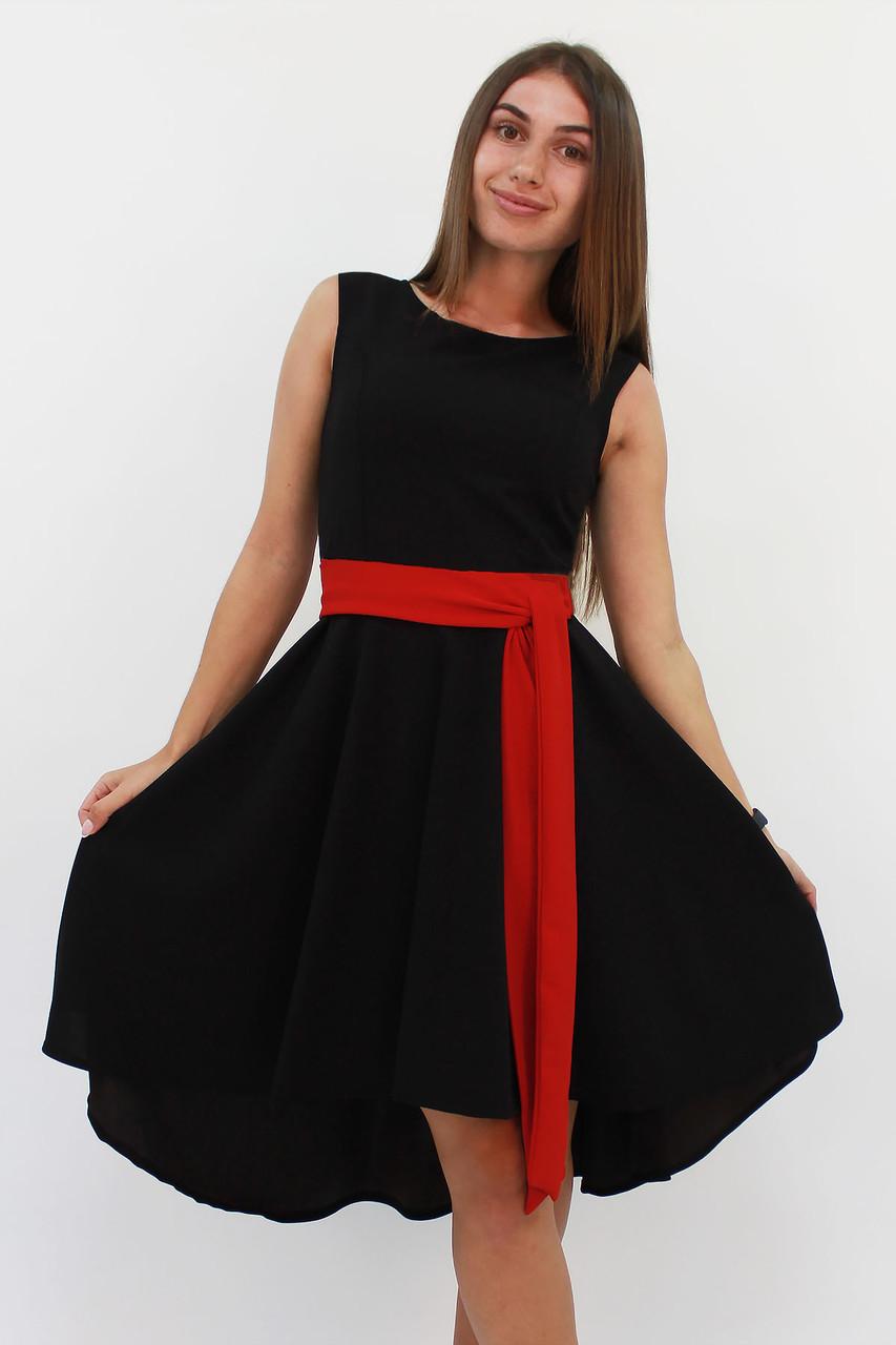 Вечірній жіноче плаття Stefany, чорний