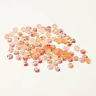 Камни Стразы  для Ногтей Акриловые Розовые с Отливом в Наборе, размер 2 мм, Декор Ногтей, Маникюр, фото 2