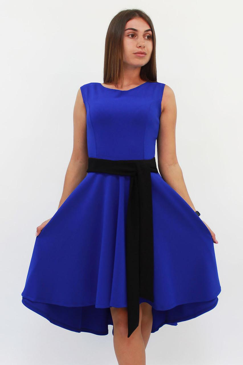 Вечернее женское платье Stefany, синий