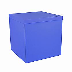 Коробка-сюрприз 700*700*700 мм, Синяя, без печати, PREMIUM