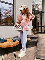 Женский тёплый спортивный костюм на флисе, фото 1