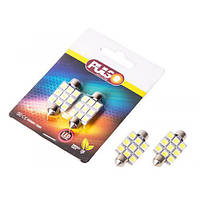 Лампы PULSO/софитные/LED SV8.5/T11x41mm/9 SMD-5050/12v/White (LP-85419)