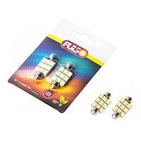 Лампы PULSO/софитные/LED SV8.5/T11x36mm/9 SMD-5050/12v/White (LP-85369)