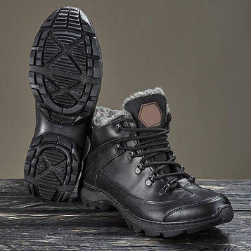 Черевики тактичні зимові -20°С BATALLION black