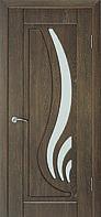 Двері міжкімнатні Сабріна горіх шоколадний (золотий дуб)