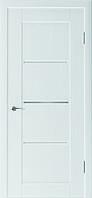 Двері міжкімнатні Верона скол дуба білого (дуб грей)