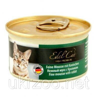 Влажный корм для кошек Edel Cat 85 г (мусс с кроликом) 6000804
