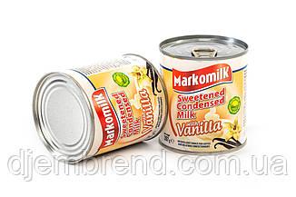 Сгущенное молоко с сахаром и вкусом ванили ТМ Markomilk, 397 гр.