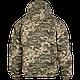 Куртка армейская  зимняя  бушлат MM14  с капюшоном камуфляж  пиксель  материал Twill  100% хлопок Украина, фото 2