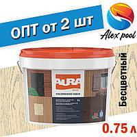 Aura Colorwood Aqua 0,75 л, бесцветная