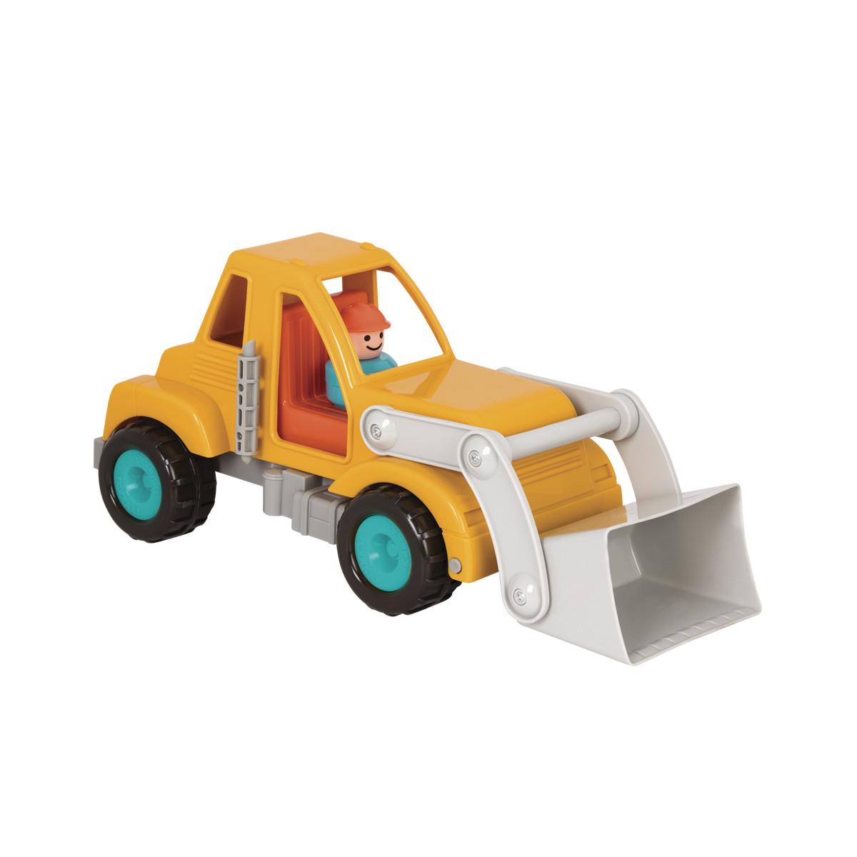 Игрушка - Экскаватор c фигуркой водителя Battat Lite BT2508Z