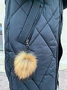 Пуховик женский с капюшоном Visdeer  812-B01, фото 7
