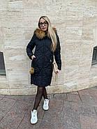 Пуховик женский с капюшоном Visdeer  812-B01, фото 2