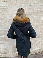 Пуховик женский с капюшоном Visdeer  812-B01, фото 5
