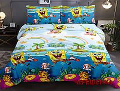Полуторный набор постельного белья 150*220 из Ранфорса №1713852 Черешенка™