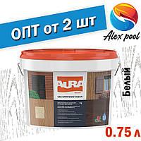 Aura Colorwood Aqua 0,75 л, белая