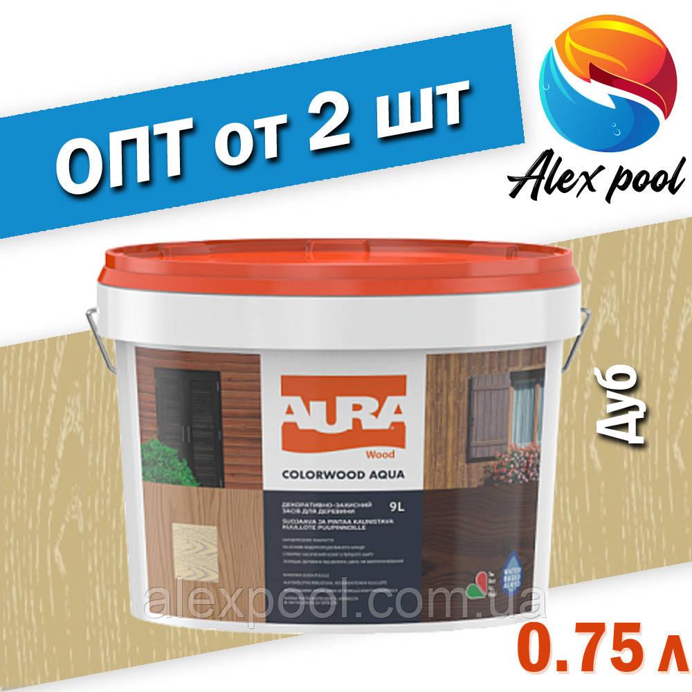 Aura Colorwood Aqua 0,75 л, дуб Продукт нового покоління на основі водоразбавимого алкіда і акрилової дисперси