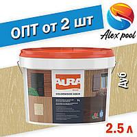 Aura Colorwood Aqua 2,5 л, дуб