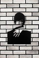 """Декоративное панно на стену """"С любимыми не расставайтесь..."""" 98х127 см. Картина из металла 3Д., фото 3"""