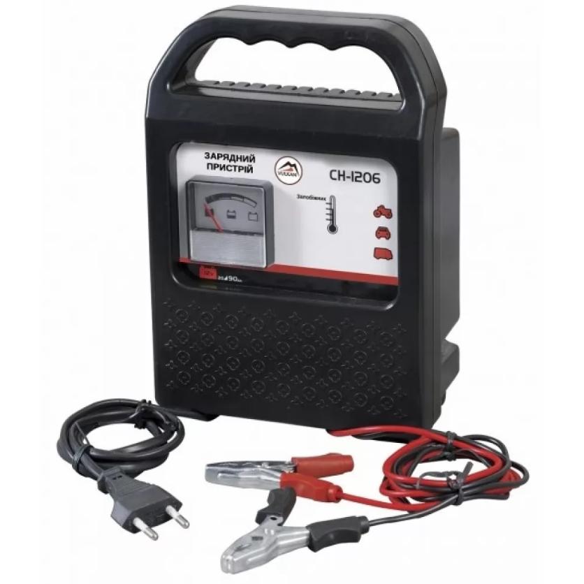 Зарядное устройство Vulkan CH1206, 20-90 A/h