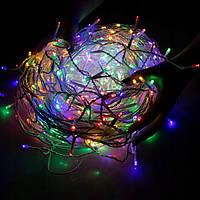 Новогодняя гирлянда Бахрома 500 LED, Разноцветный, 22,5 м, фото 1