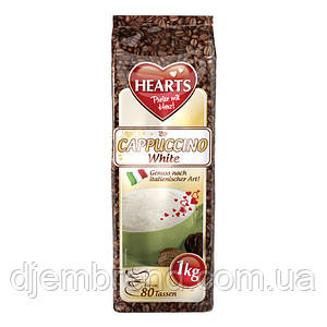 Капучино Карамель, Hearts Cappuccino White, растворимый напиток, 1 кг