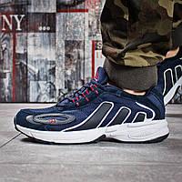 Кроссовки мужские спортивные Адидас Adidas Galaxy, темно-синие,кроссовки мужские повседневные демисезонные