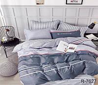 Стильный качественный семейный комплект постельного белья с компаньоном R7627