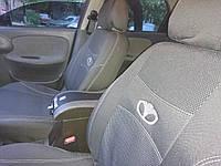 Авточехлы Daewoo Lanos седан 1997- чехлы в авто на сидения тканевые сидушки авточехол