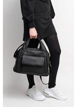 Сумка черная Спортивная сумка унисекс Сумка вместительная женская Сумка Женская сумочка Сумка для девушки