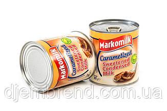 Сгущенное молоко с сахаром вареное карамелизированное ТМ Markomilk, 397 гр.