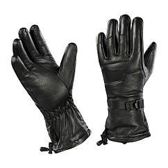 M-Tac перчатки зимние кожаные Black L