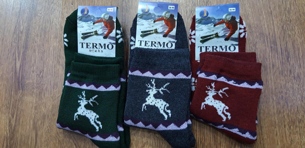 """Жіночі махрові шкарпетки""""POLO THERMO"""",Туреччина 36-40"""