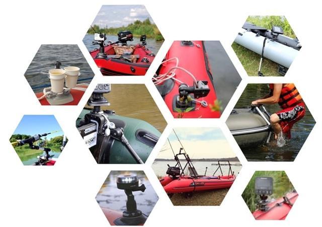 Комплектующие, аксессуары, фурнитура и крепления Borika FASTen для лодок - Аква Крузер