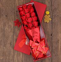 Мыло из роз Букет из роз Цветы из мыла Подарок для девушки Подарок девушке Подарок маме