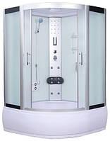 Гидромассажный бокс AquaStream Comfort 150 HW с гидромассажем и аэромассажем в поддоне, 1500х1500х2170 мм