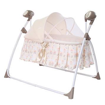 Люлька-качели Люлька для сна новорожденной девочки Люлька для дівчинки