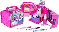 Крайола раскрашиваемые питомцы с ванной, салон красоты Crayola Scribble Scrubbie Toy Pet Playset