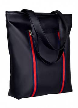 Сумка для покупок Черная сумка шоппер Женская вместительная сумка Сумка Женская сумочка Сумка для девушки