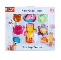 """Набор для ванной """"Животные"""" Морской конек Развивающая игрушка для ребенка от 12 мес"""