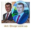 Декорированные портреты в стекле с фацетом 240х300мм., фото 5
