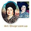Декорированные портреты в стекле с фацетом 240х300мм., фото 6