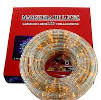 Гирлянда светодиодная Xmas LED Rope light 10M WW Теплый белый