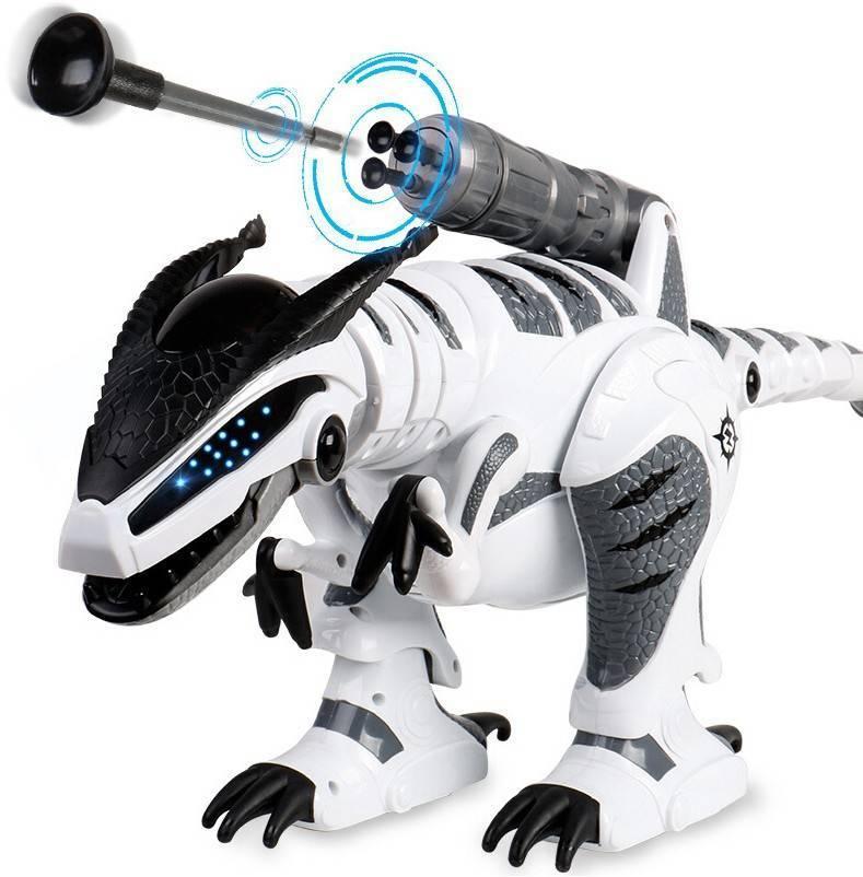 Робот-динозавр на радиоуправлении Робот на радиоуправлении Робот на батарейках Детский робот