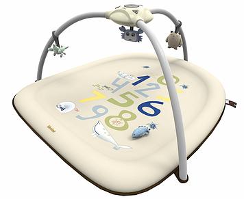 Коврик для младенца с проектором Игровой коврик для новорожденного ребенка