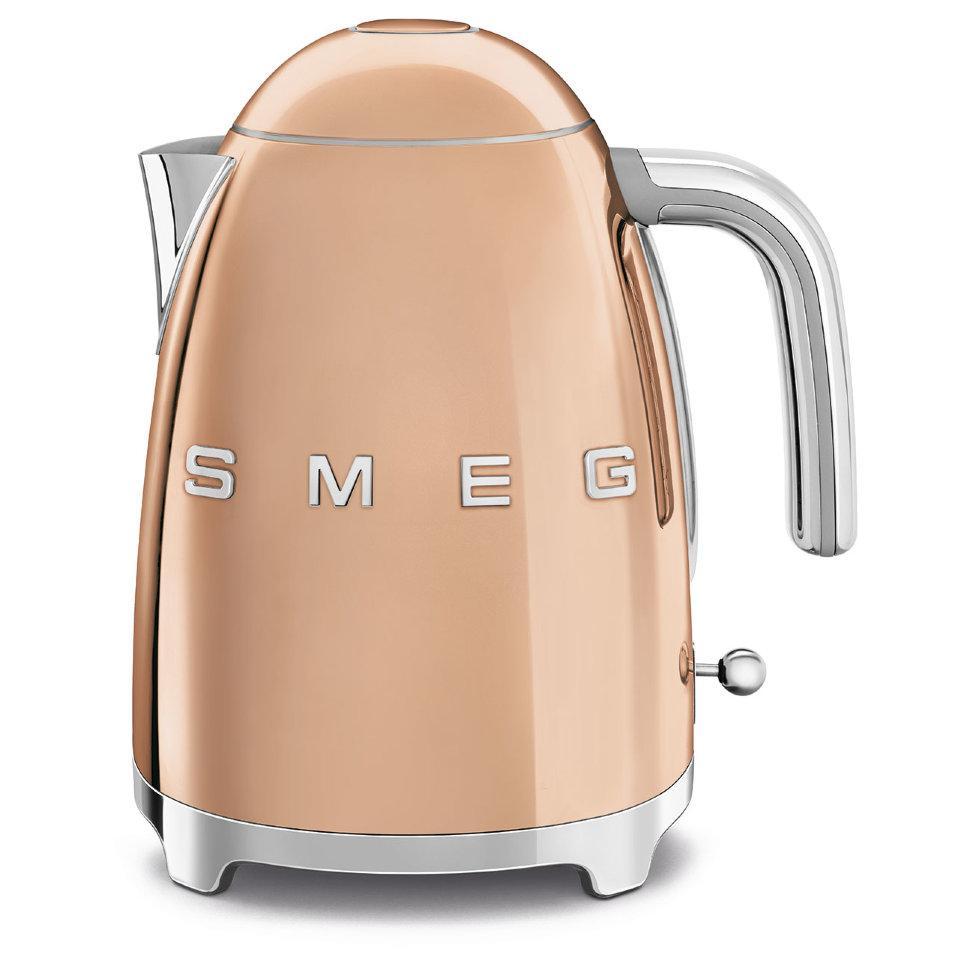 Чайник электрический Smeg 1.7 л розовое золото KLF03RGEU
