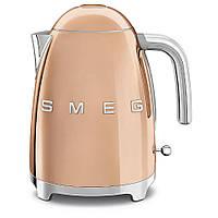Чайник электрический Smeg 1.7 л розовое золото KLF03RGEU, фото 1