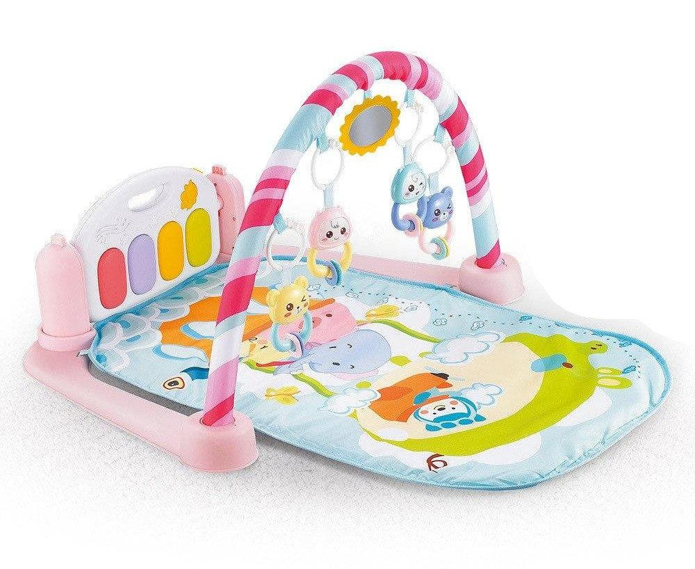 Детский развивающий коврик с пианино для младенцев Детский игровой коврик для ребенка с рождения